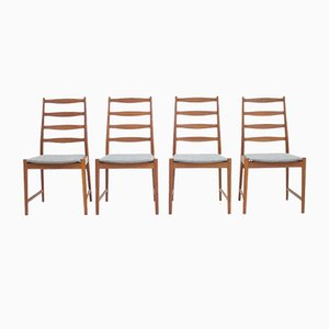 Teak Dining Chairs by Arne Vodder for Vamø, 1960s, Set of 4