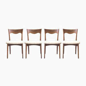 Vintage Dutch Dining Chairs from AWA, 1960s, Set of 4
