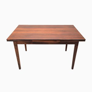 Mid-Century Danish Brazilian Rosewood Extendable Table by N.P. Nielsen for Sejling Møbler, 1960s