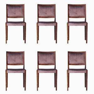 Swedish Rosewood Chairs, 1960s, Set of 6