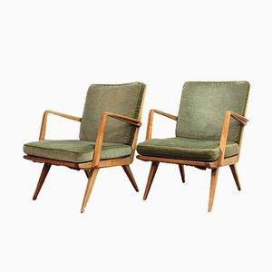 Antimott Sessel von Walter Knoll, 1950er, 2er Set