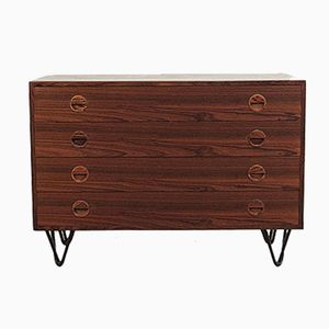 Vintage Rosewood Chest of Drawers with Hairpin Legs from HG Furniture