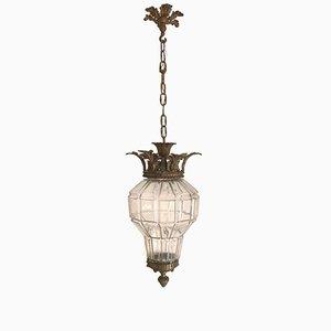 Lantern Ceiling Lamp, 1920s