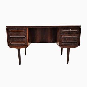 Brazilian Rosewood Model 26 Freestanding Desk by Andreas Pedersen for AP Møbler, 1960s