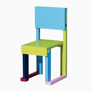 EASYDiA Tannenholz Kinderstuhl von Massimo Deutschei Architetto für Progetto Arcadia