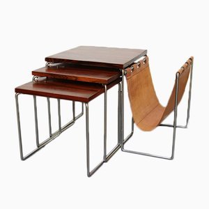 Nesting Tables in Rosewood from Brabantia, 1960s