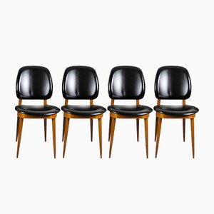 Pegase Dining Chairs by Pierre Guariche for Baumann, 1960s, Set of 4
