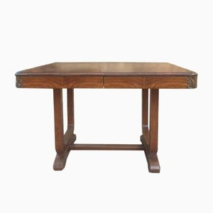 Vintage French Extendable Table, 1940s