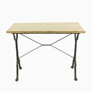Tavolino antico in quercia, inizio XX secolo