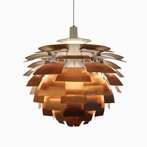 Artichoke Copper Pendant by Poul Henningsen for Louis Poulsen, 1960s