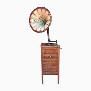 Französisches Vintage Grammophon von Le Concert Automatique Français, 1920er