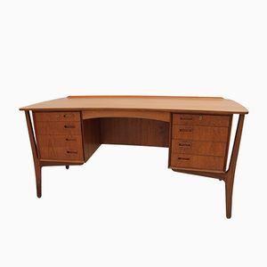 Teak Desk by Svend Åge Eriksen for Asborn Mobler, 1960s