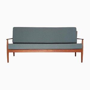 Modell 118 Teak Sofa von Grete Jalk für France & Søn, 1950er