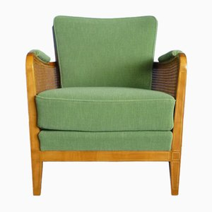 Cherry Club Chair from Schildknecht, 1950s