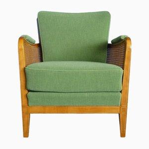 Club chair in legno di ciliegio di Schildknecht, anni '50