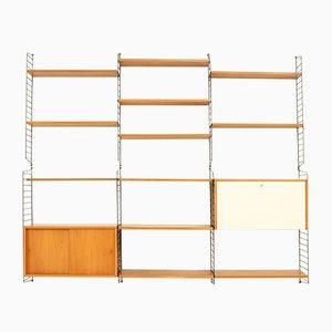 Libreria di Kajsa e Nisse Strinning per String Design AB, anni '50