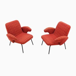 Armchairs by Alan Fuchs, 1960s, Set of 2
