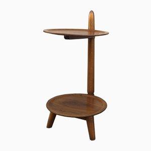 Table d'Appoint Vintage en Chêne de Edmund Jørgensen, Danemark, 1950s