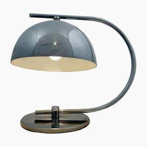 Lampada da tavolo in acciaio cromato, anni '60