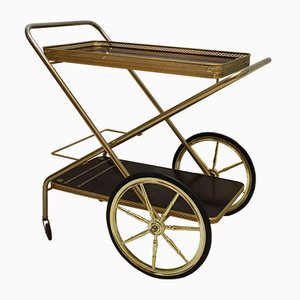 Vintage French Folding Trolley