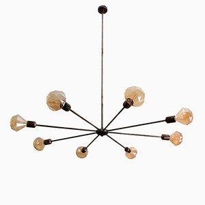 Lámpara de techo Koyu industrial de Juanma Lizana