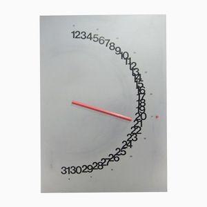 Meridiana Kalender von Giulio Confalonieri für Nava Design, 1975