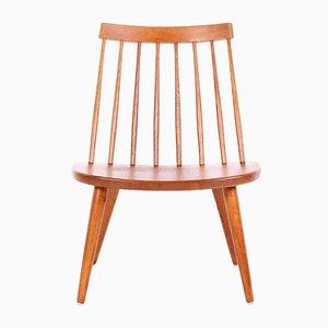 Mid-Century Oak Sibbo Chair by Yngve Ekström for Stolab