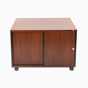 Rosewood Sideboard on Wheels by Ico & Luisa Parisi for MIM, 1970s