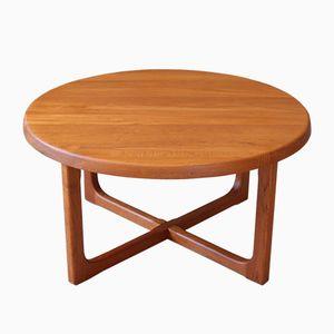 Vintage Danish Teak Coffee Table by Niels Bach