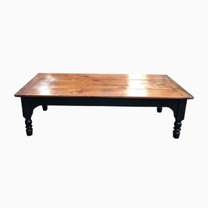 Antique French Cherrywood Coffee Table