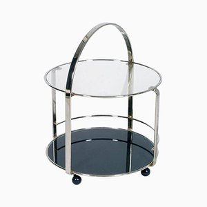 Chrome & Glass Bar Cart, 1970s