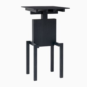Covered Identity Black Ash Side Table by Studio Pascal Howe