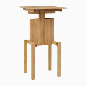 Covered Identity Oiled Oak Side Table by Studio Pascal Howe