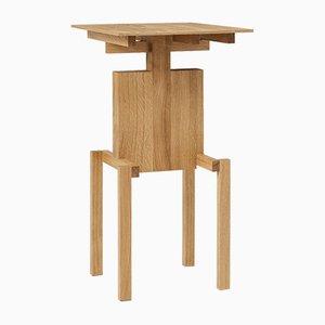 Tavolino Covered Identity in legno di quercia oliato di Studio Pascal Howe
