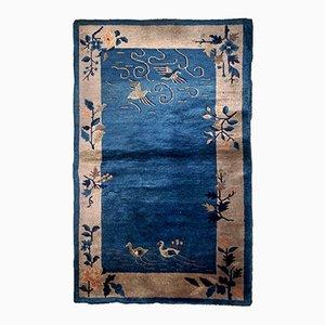 Antiker handgeknüpfter chinesischer Peking Teppich, 1920er