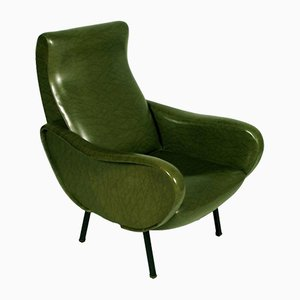 Mid-Century Italian Lounge Chair, 1960s