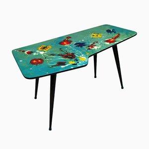 Tavolino da caffè Freeform decorativo, anni '50