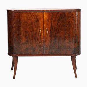 Vintage Walnut Sideboard from La Permanente Mobili Cantù
