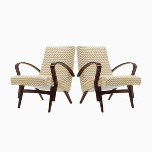 Armchairs from Tatra, 1960s, Set of 2