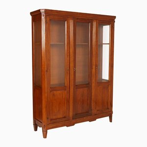 Mid-Century Solid Walnut Cabinet