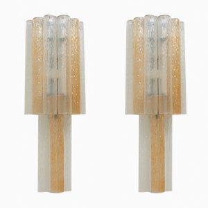 Große italienische Wandlampen, 1960er, 2er Set