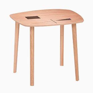 Tavolo pieghevole Liande da interno e da esterno di Kathrin Charlotte Bohr per Jacobsroom