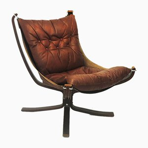 Falcon Lounge Chair by Sigurd Ressell for Vatne, 1970s
