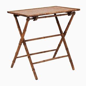 Tavolino vintage in bambù