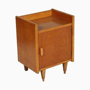 Italienischer Art Deco Nussholz Nachttisch von Gio Ponti für La Permanente Mobili Cantù