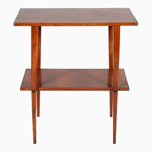 Small Art Deco Occasional Walnut Table