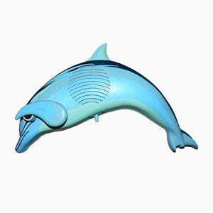 Radio alemán en forma de delfín, años 80