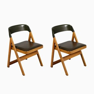 Vintage Compasso Chairs from Piarotto, 1980s, Set of 2