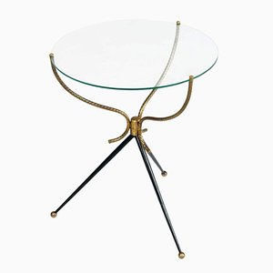 Vintage Italian Tripod Coffee Table, 1930s