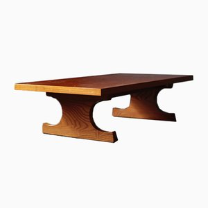 Table Fumi par Isamu Kenmochi pour Tendo Mokko, 1970s